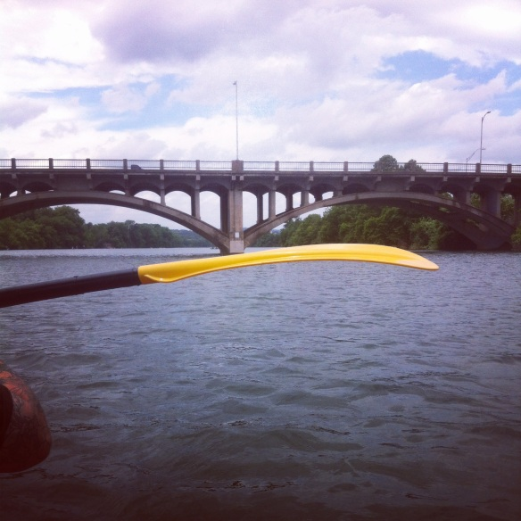Kayaking the Colorado River, Austin