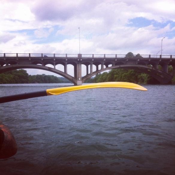 Kayaking the Colorado River, Austin