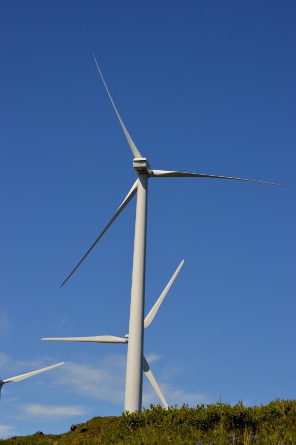 Windmills on Pillar Mountain, Kodiak, AK