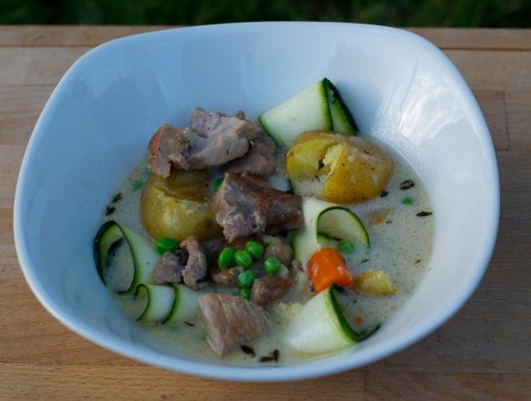 Pork Blanquette with Spring Vegetables