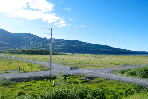 You can actually drive to the end of several roads in Kodiak, Alaska