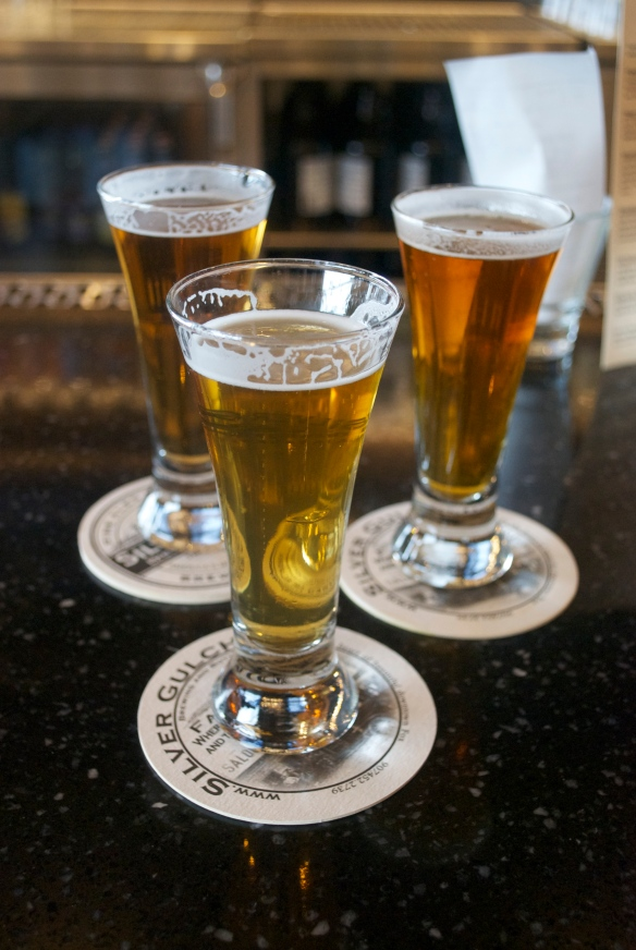 Flight delay = Flights of beer. It only makes sense.