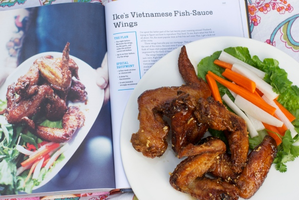 Fish Sauce Wings (from the Pok Pok cookbook)