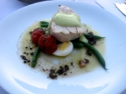 Poached Oregon Albacore Niçoise