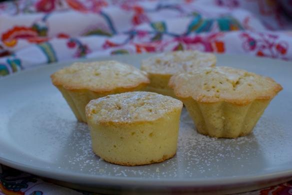 Powdered Sugar Pound Cakes