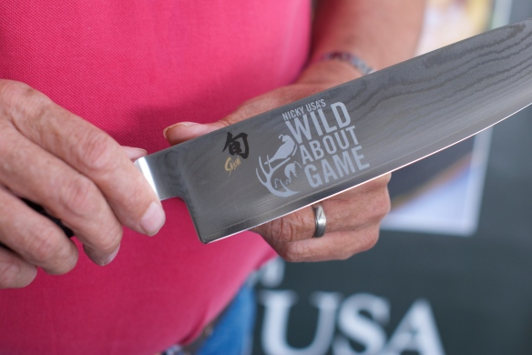 It's so serious we have knives engraved!