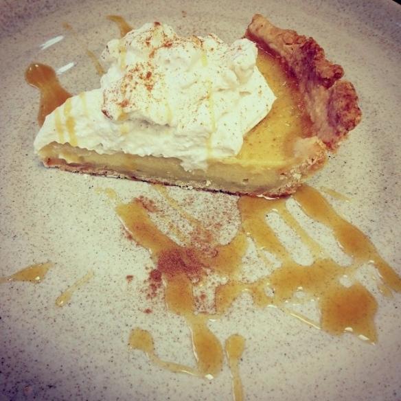 Apple Cider Cream Pie W. Cinnamon Whipped Cream