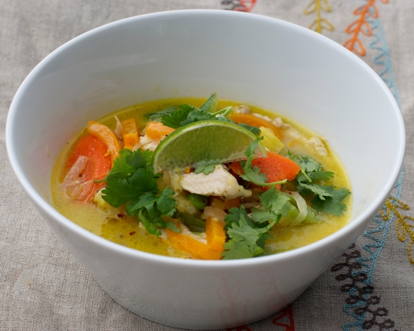 Thai Chicken and Vegetable Soup