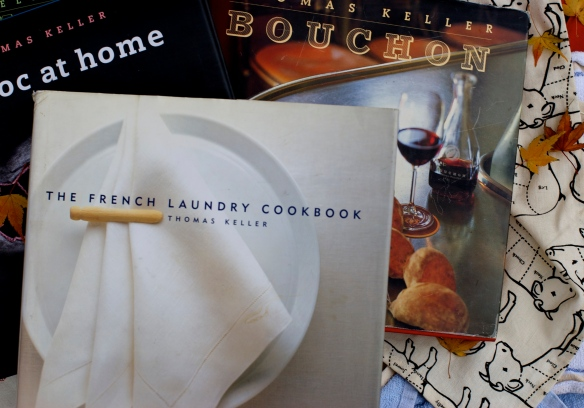 Thomas Keller's cookbooks