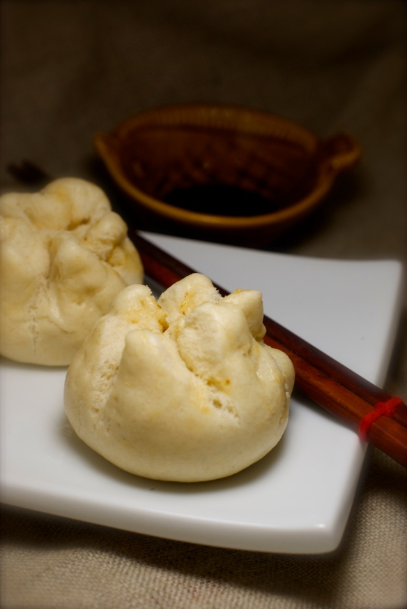 Homemade Chinese Pork Steamed Buns (char siu bao)