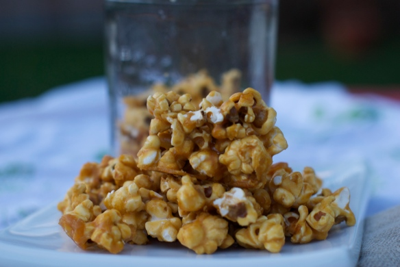 Sweet & Salty Caramel Corn