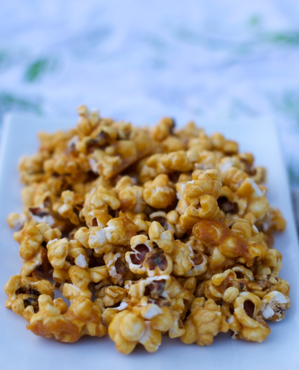 Sweet & Salty Caramel Corn, otherwise known as evil incarnate