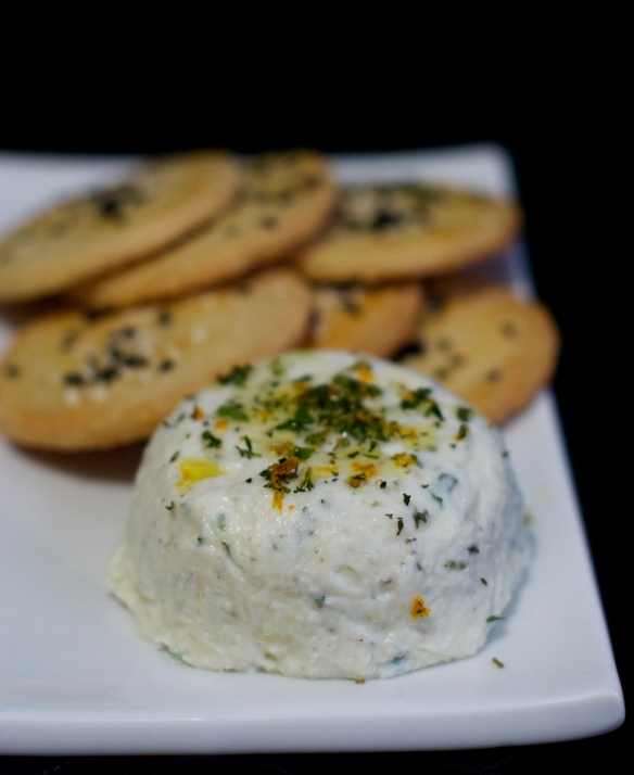 Homemade Goat Cheese Ball