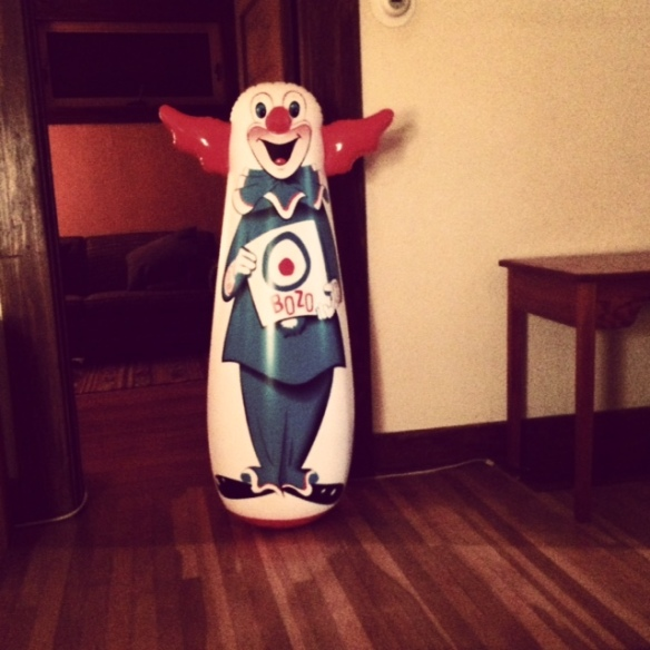 Bozo Weeble Wobble -- it's best not to ask why...