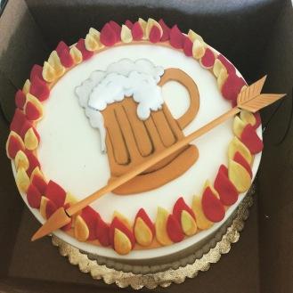 Drunker Games Birthday Cake
