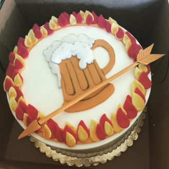 Drunker Games Birthday Cake