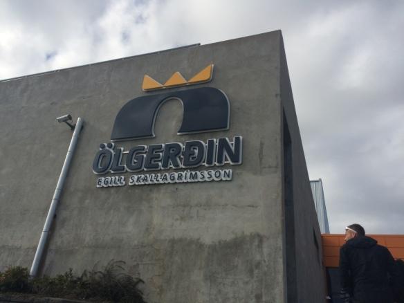 Olgerdin Brewery in Reykjavik, Iceland