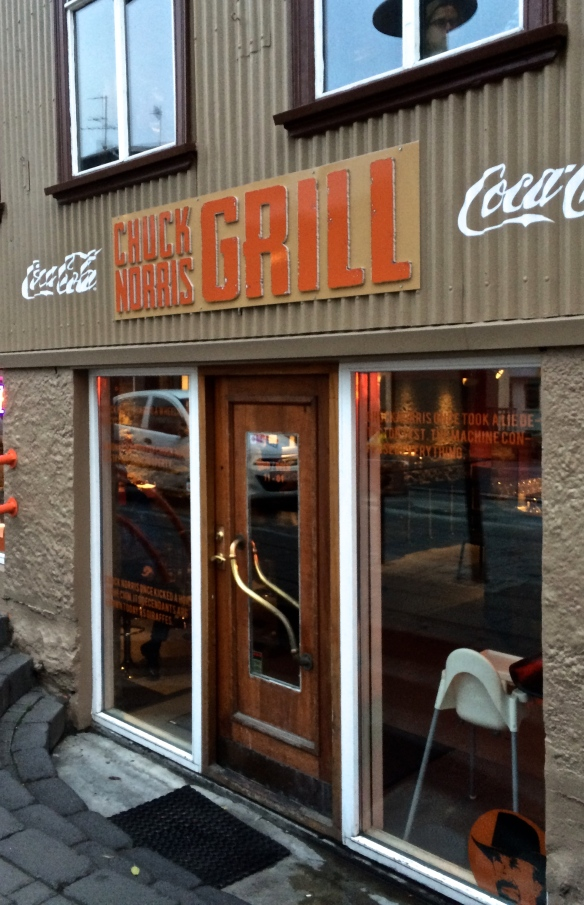 Yes, there really is a bar called the Chuck Norris Grill in Reykjavik. Why not?