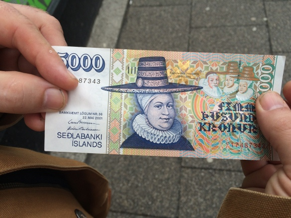 Icelandic Krónur - there's just always something fun about colorful money. Why is America so boring?