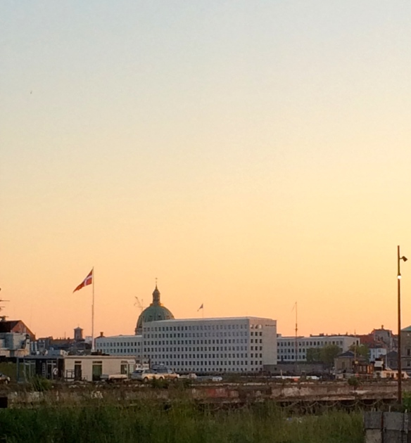 Our first Danish sunset - I've never been so happy to see the sun set at 10pm.