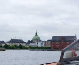 Amalienborg Palace and Square, where the royal family lives.