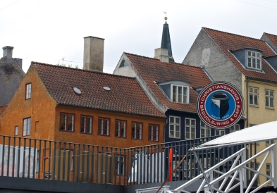 Passing through Christianshavn, a delightful district that was home to Copenhagen's commercial center until the 1920s.