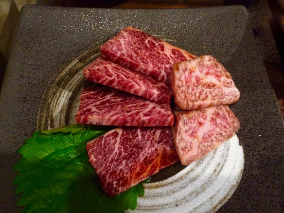The best we could gather was that this was a sirloin-tip, off the knuckle. In other animals it might be more of a braising cut, with this beef, it was like butter.