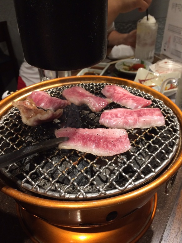 Yakiniku in Tokyo