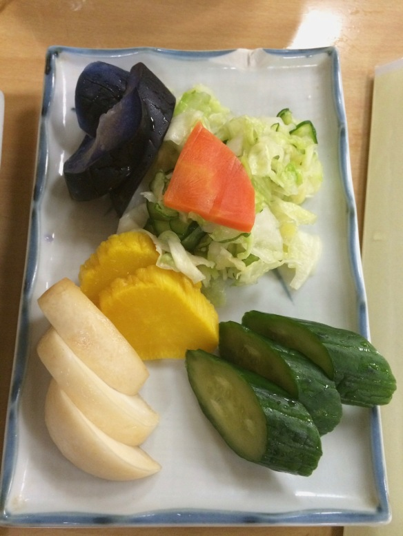 Love a plate of pickles!